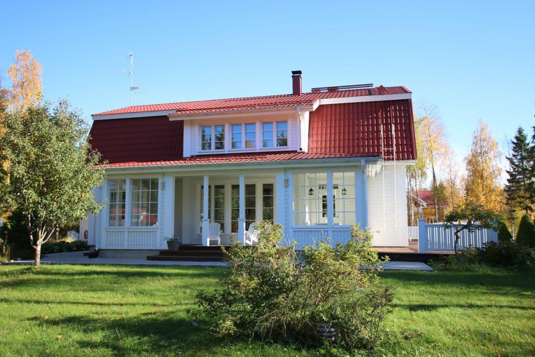 Okt, 4mh+k+oh+khh+kph+s 195,6 m², Harrinkuja 24, Tornio
