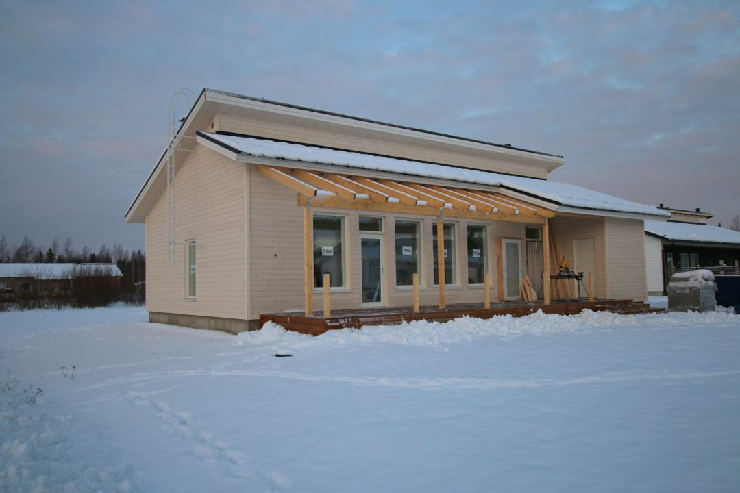 Okt, 4h + k + ruok + s + khh 102/124 m², Närhinkuja 2, Tornio