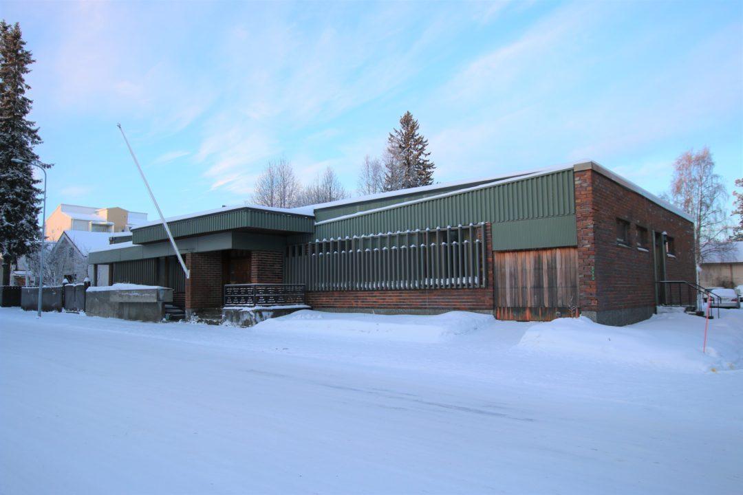 8h+k+kellarikerros+at 505m², Uusikatu 1, Tornio