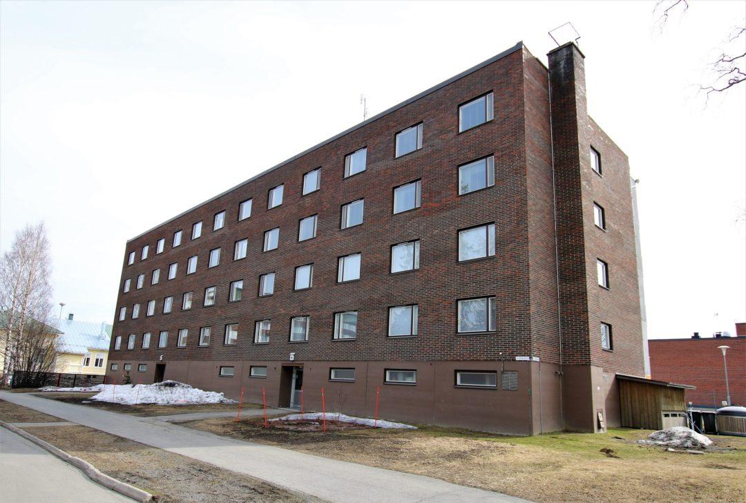 Kt, 1h+kk, 34,5 m², Uusikatu 4, Tornio