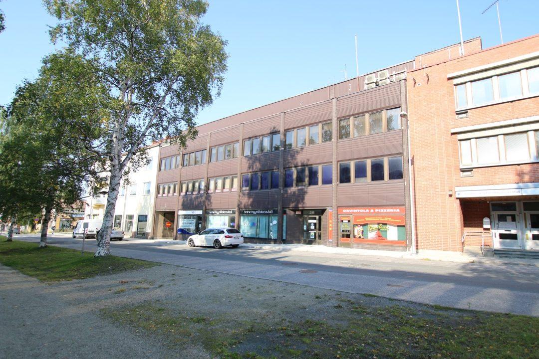 Lt, 209,5 m², Keskuspuistokatu 28, Kemi